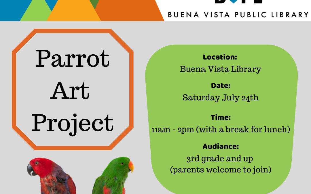 Parrot Art Project