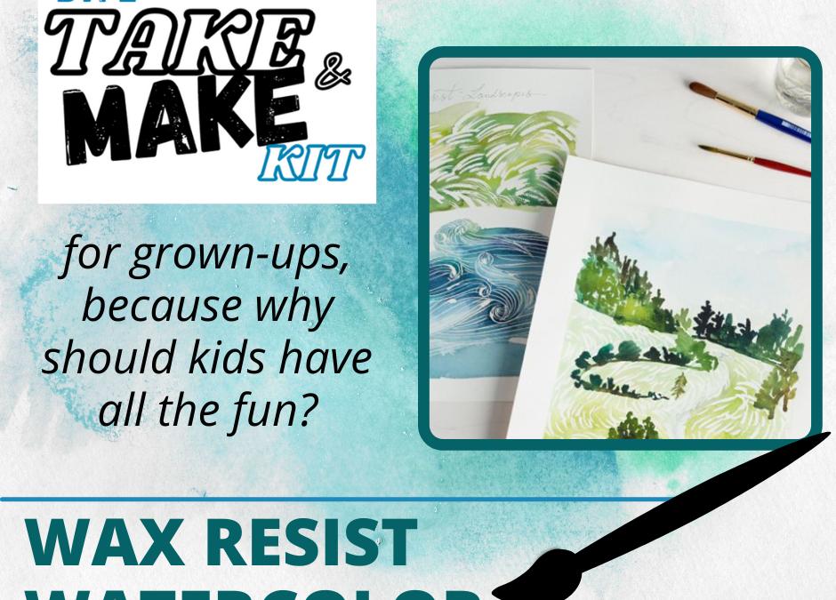 Adult Take & Make Kit