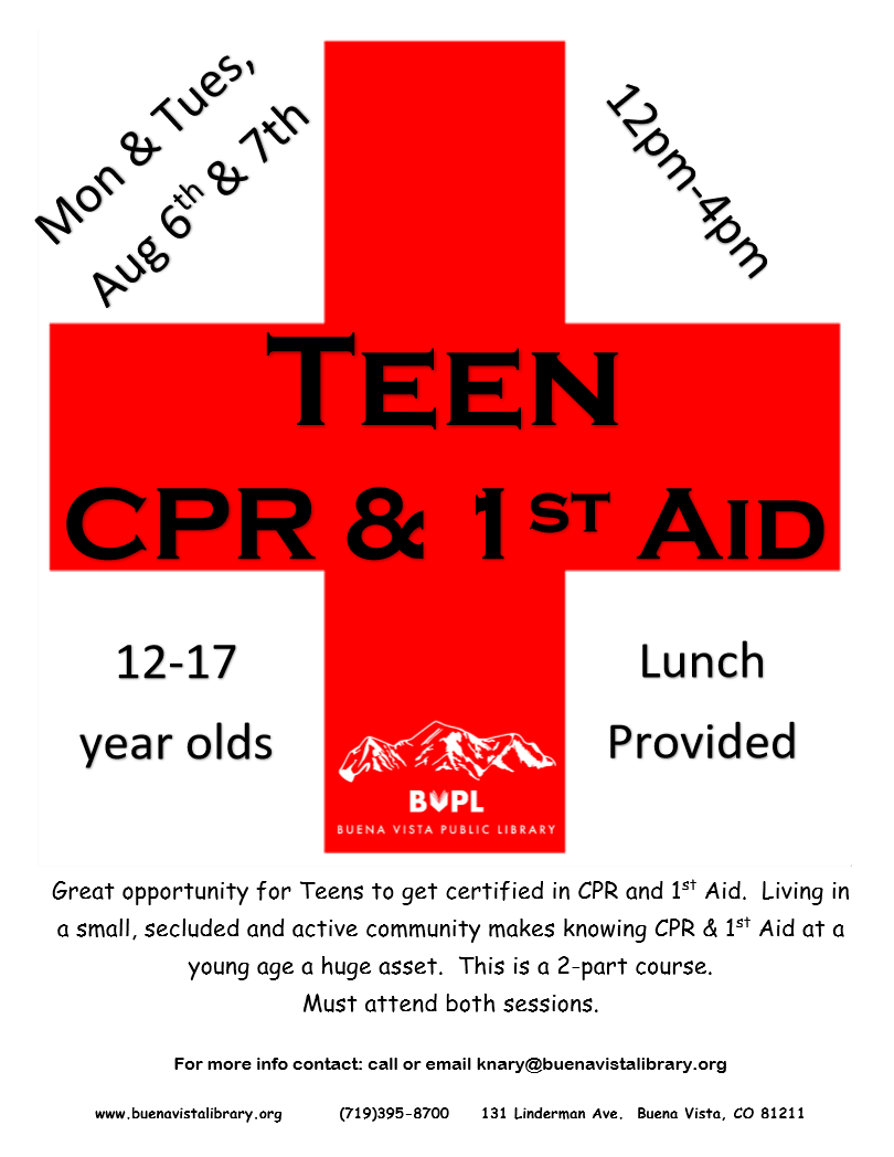 Teen CPR & 1st Aid