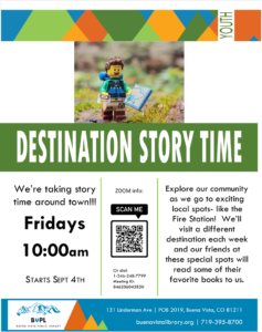 Destination Story Time