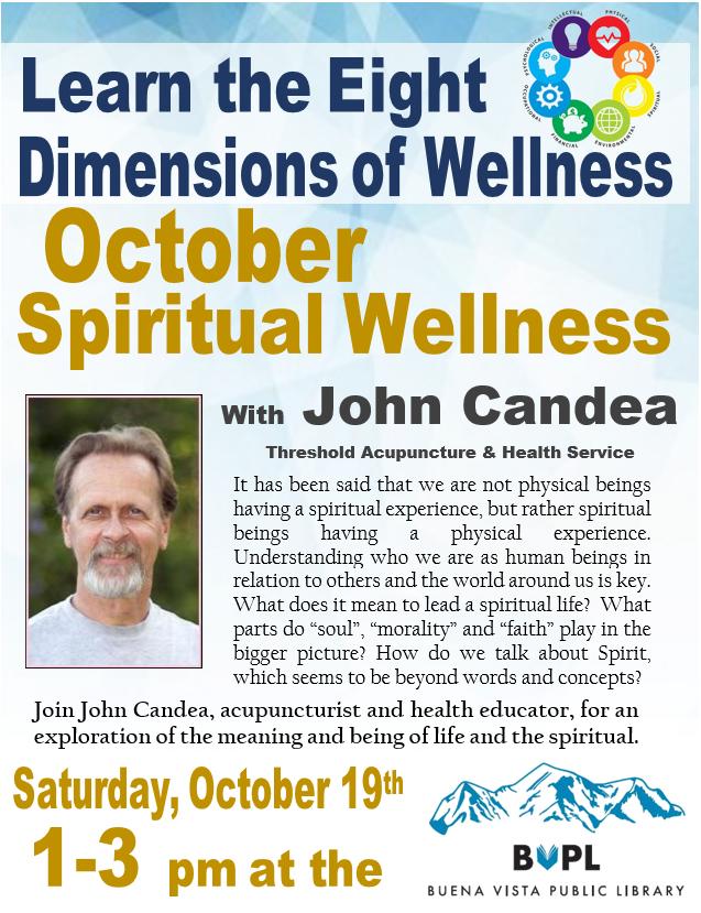 Spiritual Wellness with John Candea