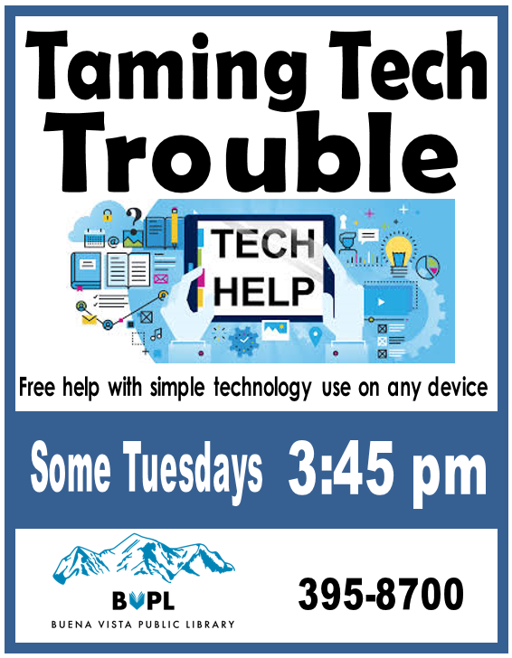 Taming Tech Trouble 3:45 pm